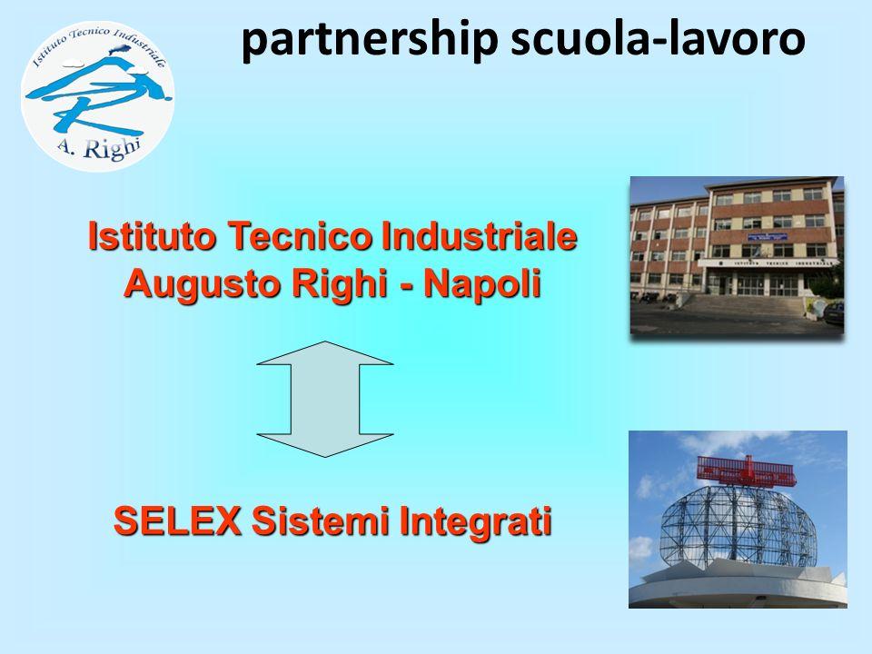 partnership scuola-lavoro SELEX Sistemi Integrati