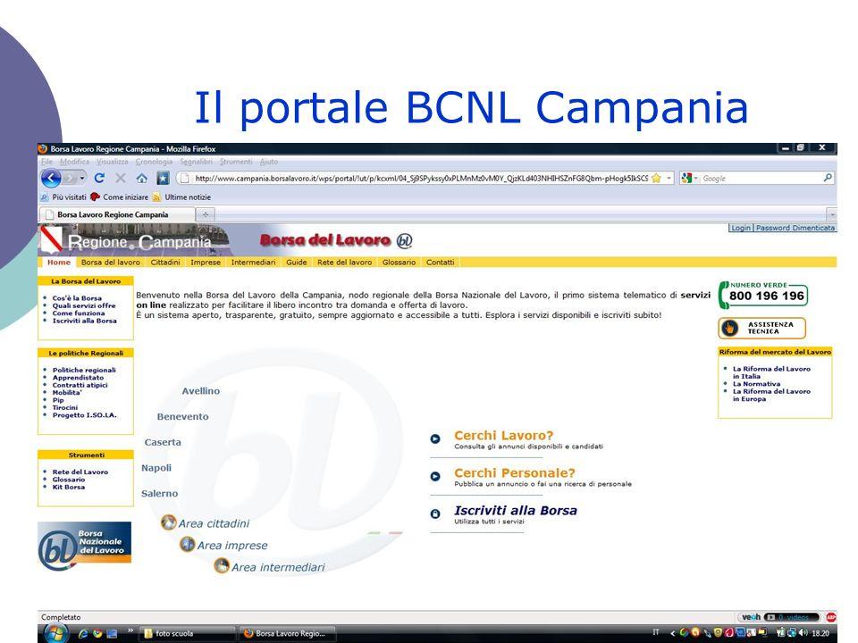 Il portale BCNL Campania