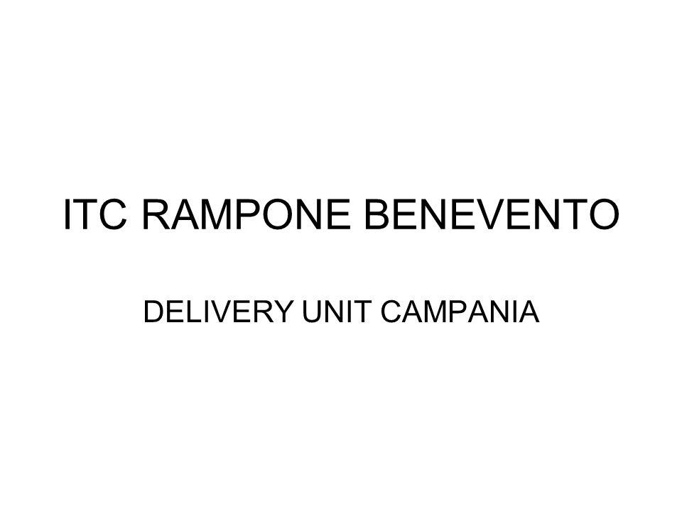 ITC RAMPONE BENEVENTO DELIVERY UNIT CAMPANIA