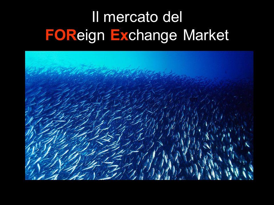 Il mercato del FOReign Exchange Market un