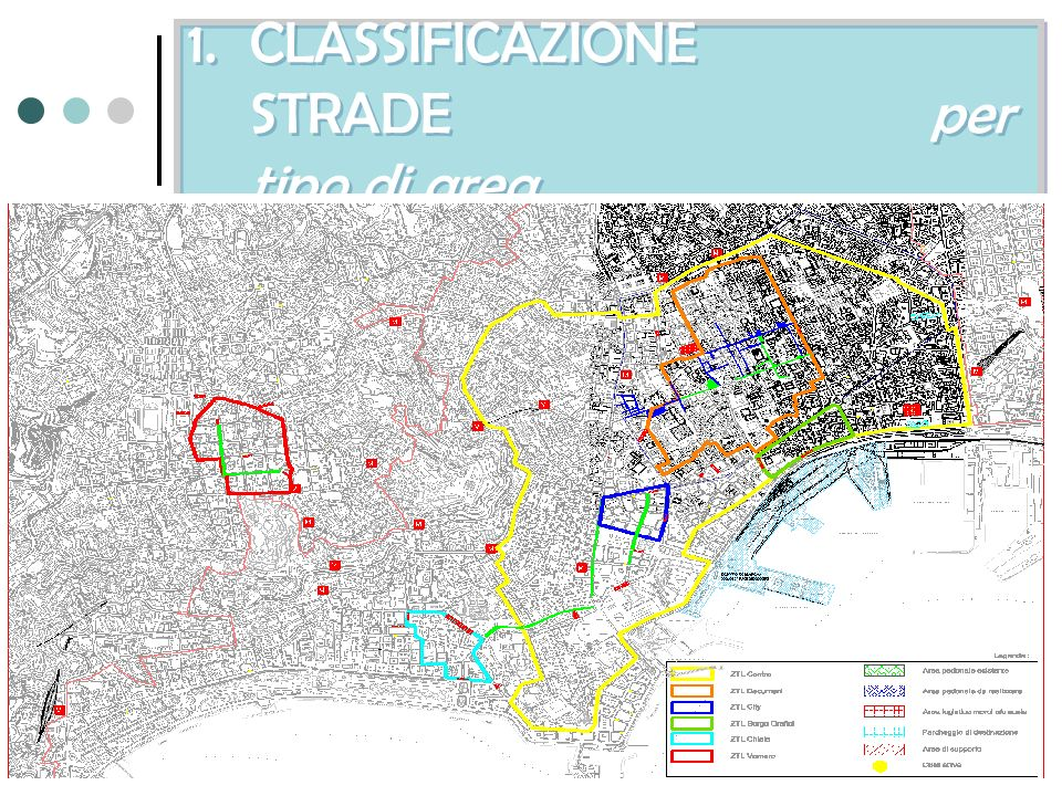 6 1.CLASSIFICAZIONE STRADEper tipo di area