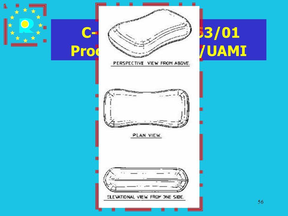 Conferenza dei giudici CGE 200556 C-107/03 P - T-63/01 Procter & Gamble/UAMI