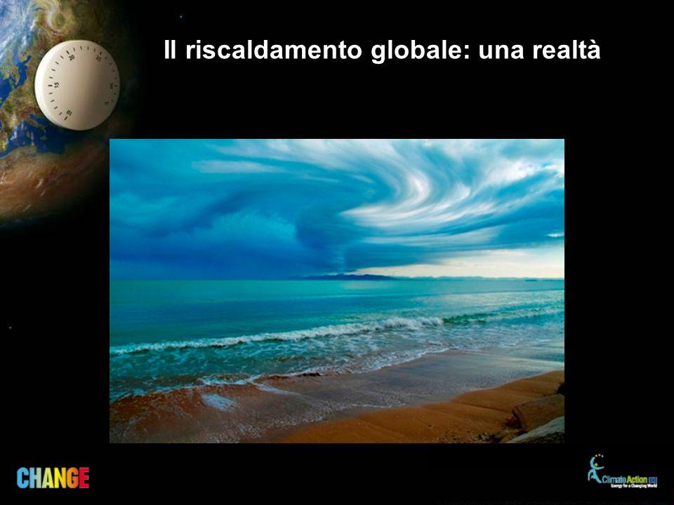 Il riscaldamento globale: una realtà