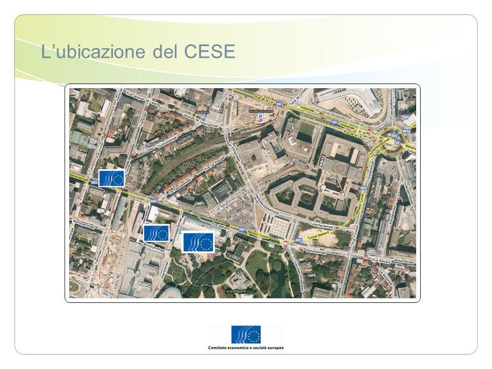 Lubicazione del CESE