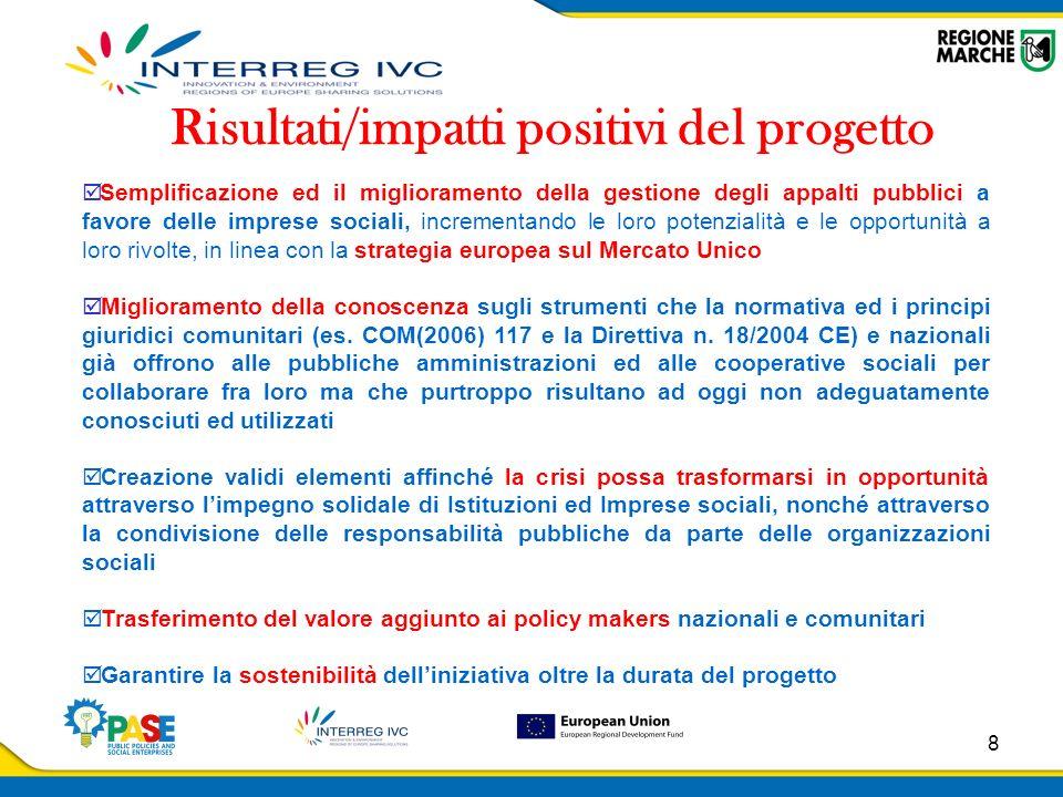 9 CONTACTS REGIONE MARCHE EDUCATION, TRAINING AND LABOUR COUNCILLORSHIP Via Tiziano, 44 60125 Ancona - Italy Tel.