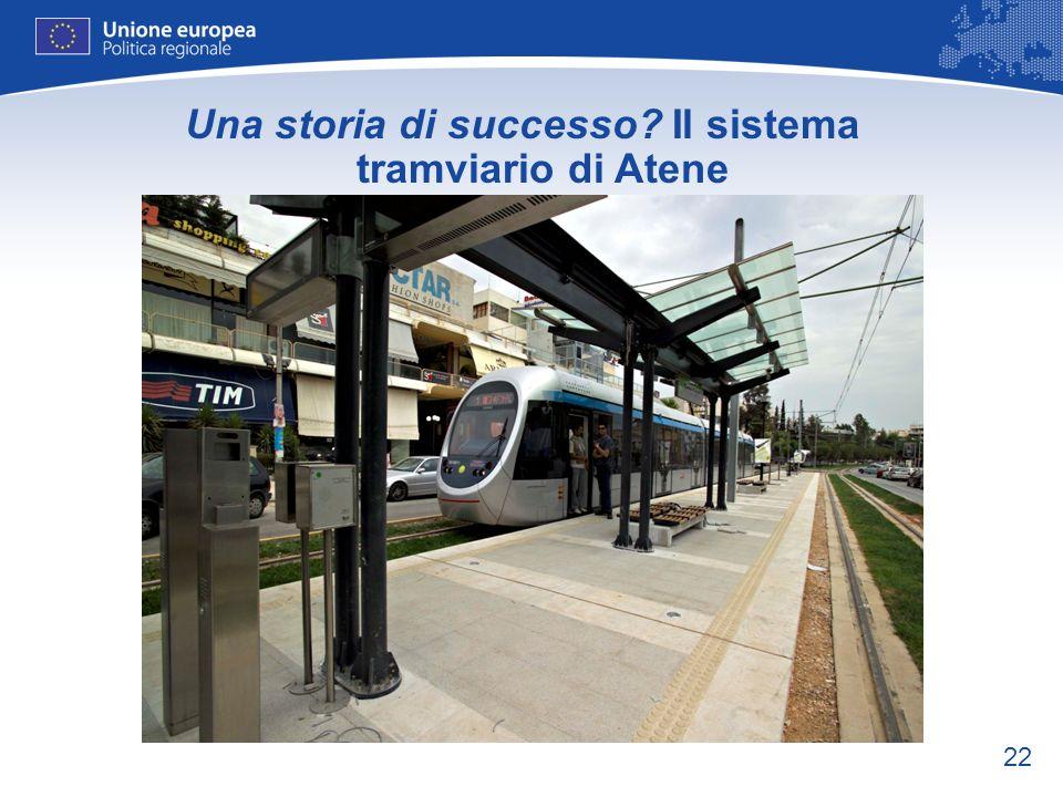 22 Una storia di successo? Il sistema tramviario di Atene