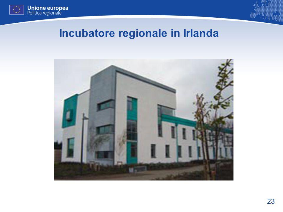 23 Incubatore regionale in Irlanda
