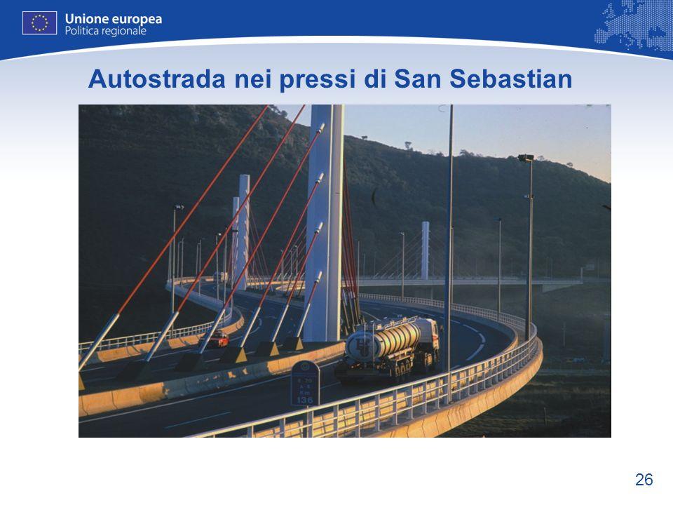 26 Autostrada nei pressi di San Sebastian