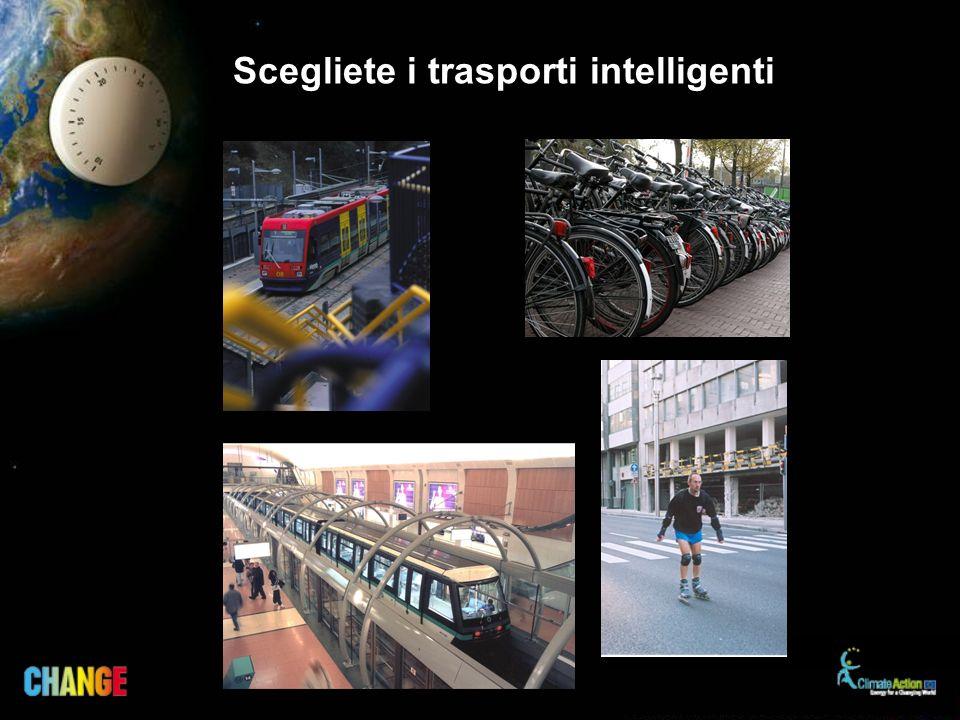 Scegliete i trasporti intelligenti
