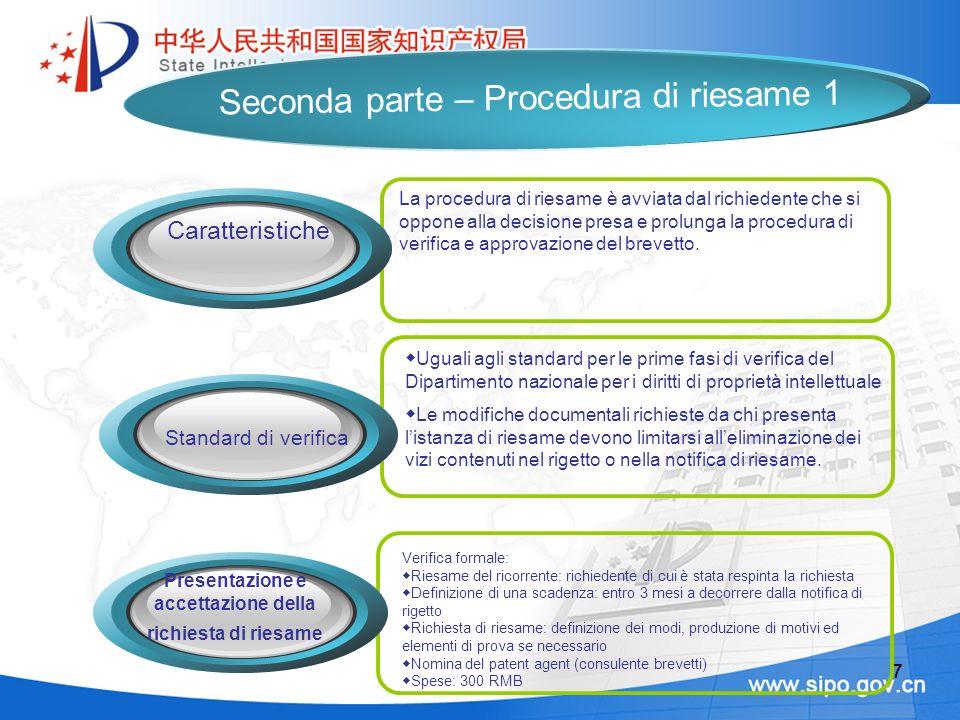 88 1.Se la richiesta di riesame è fondata, viene approvato lannullamento del rigetto 2.