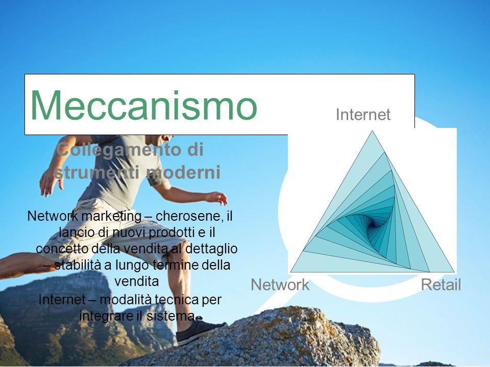 Collegamento di strumenti moderni Network marketing – cherosene, il lancio di nuovi prodotti e il concetto della vendita al dettaglio – stabilità a lungo termine della vendita Internet – modalità tecnica per integrare il sistema Meccanismo Internet RetailNetwork