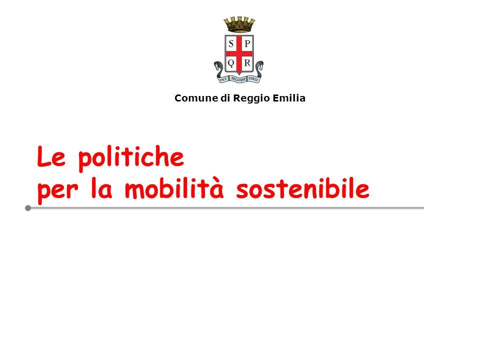 Le politiche per la mobilità sostenibile Comune di Reggio Emilia