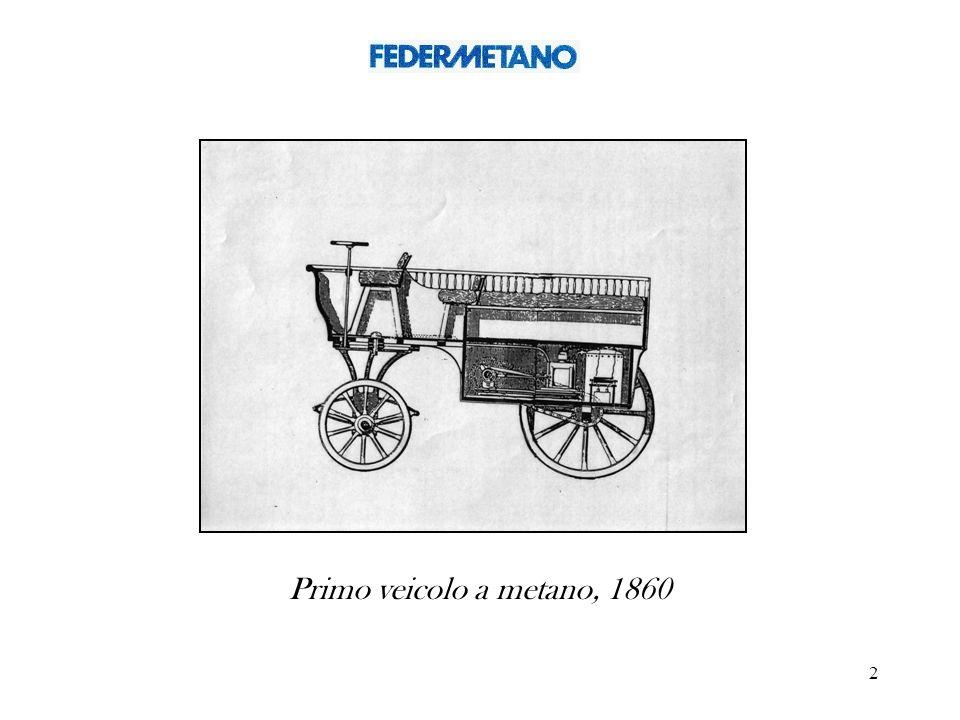 2 Primo veicolo a metano, 1860