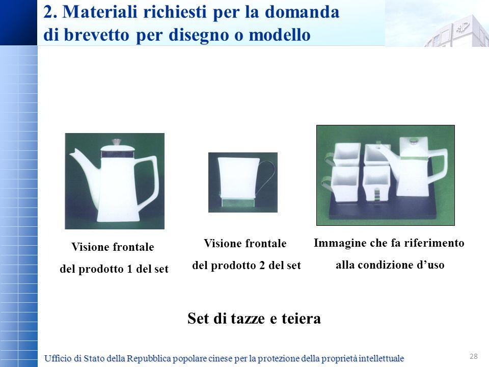 28 Set di tazze e teiera Visione frontale del prodotto 1 del set Visione frontale del prodotto 2 del set Immagine che fa riferimento alla condizione d