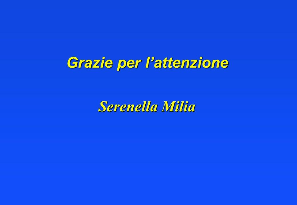 Grazie per lattenzione Serenella Milia