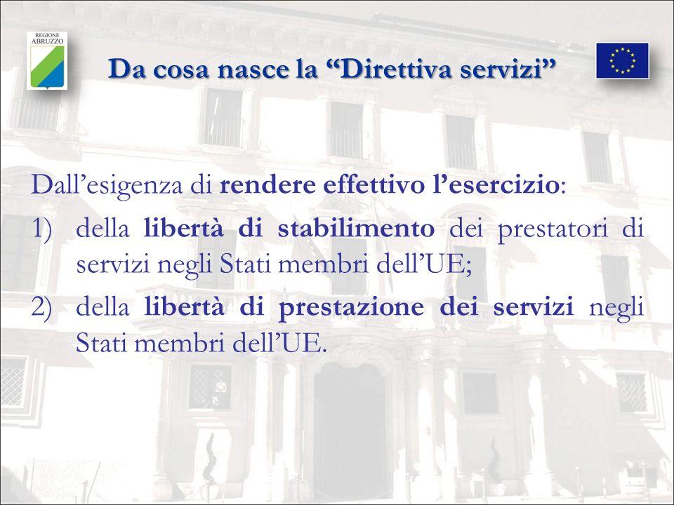 Gli ostacoli da superare per garantire le libertà sancite dal Trattato UE 1.Eccessiva gravosità delle procedure amministrative; 2.Incertezza giuridico-amministrativa delle attività transfrontaliere; 3.Mancanza di fiducia reciproca tra gli Stati membri.