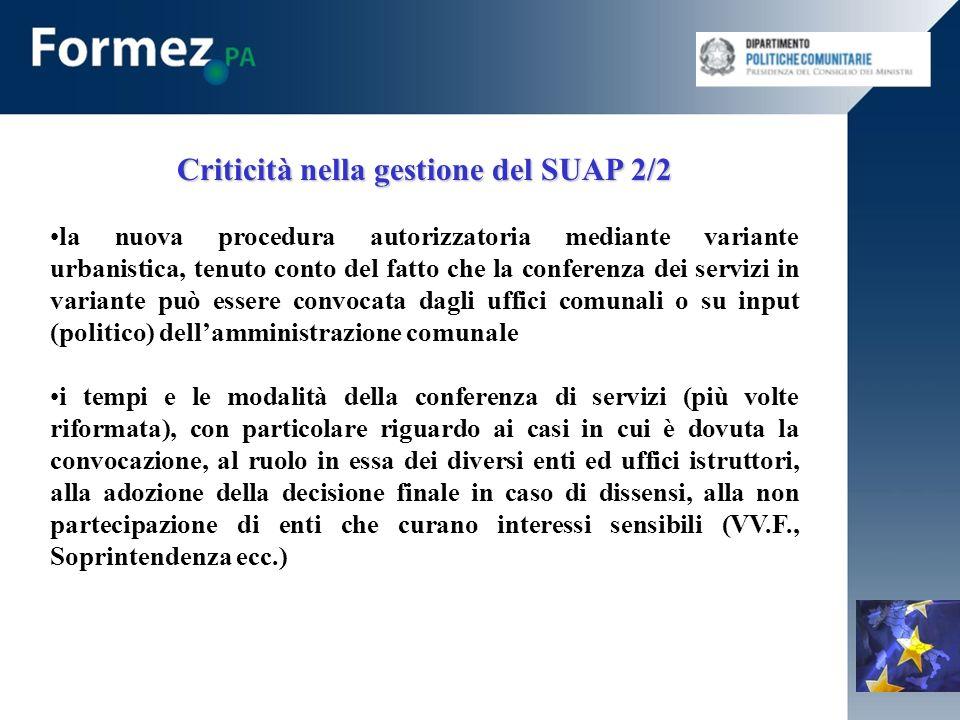 La Direttiva Servizi e la riforma del SUAP 1/5 Il capo II (artt.