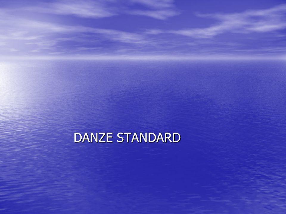 Le danze Standard Le danze Standard sono l università del ballo e fanno parte di una categoria a sé stante.