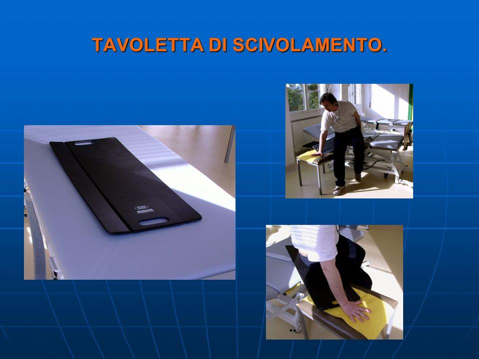 TAVOLETTA DI SCIVOLAMENTO.