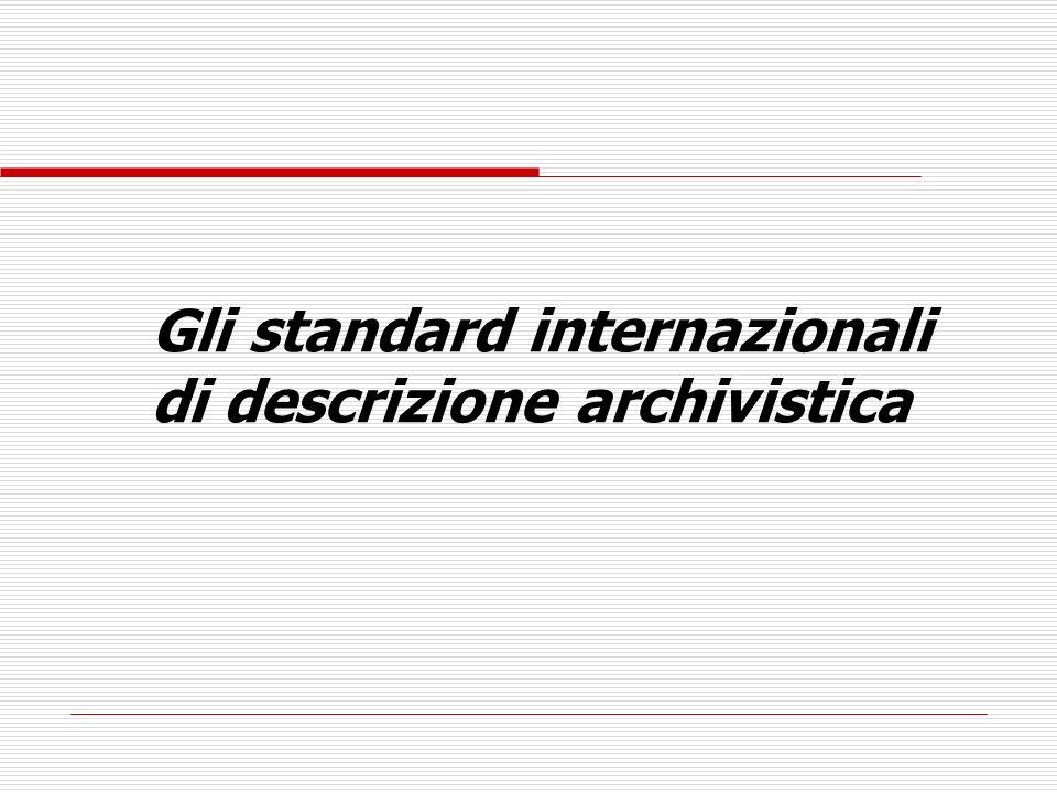 International Standard Archival Description (General) ISAD (G)