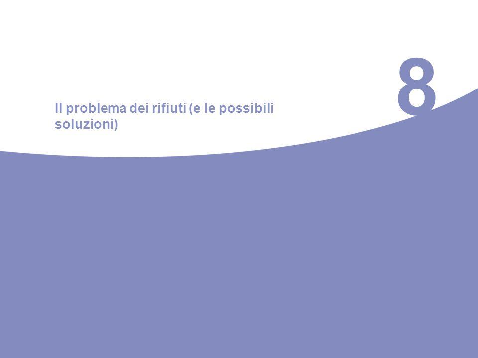 8 Il problema dei rifiuti (e le possibili soluzioni)