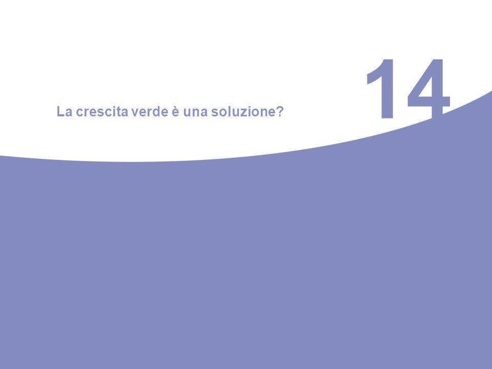 14 La crescita verde è una soluzione?
