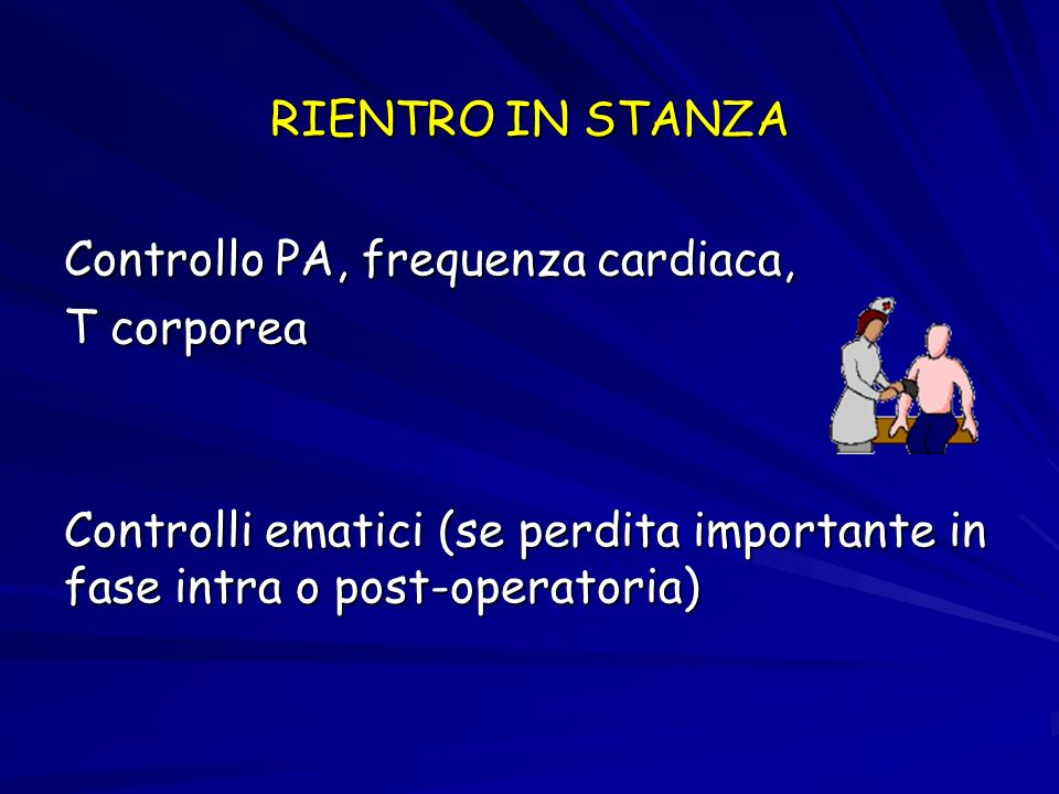 CONTROLLO INFUSIONE DI LIQUIDI Terapia infusionale e.v.