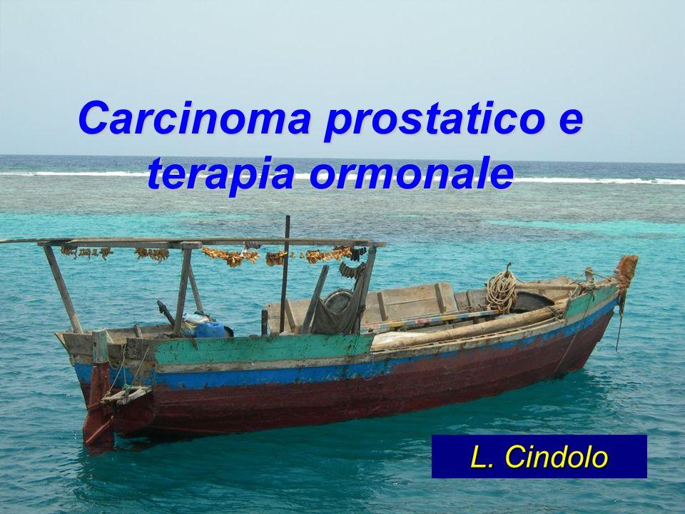Carcinoma prostatico e terapia ormonale L. Cindolo
