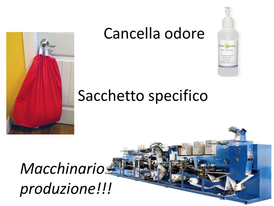 Sacchetto specifico Cancella odore Macchinario produzione!!!