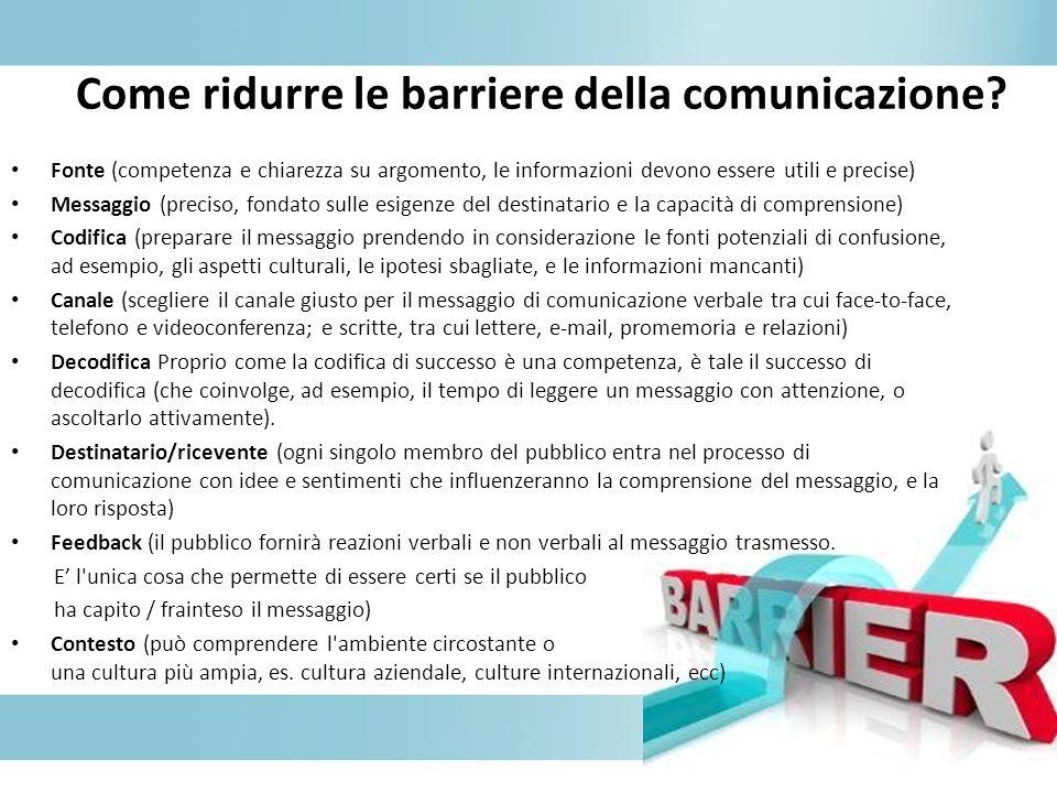 La comunicazione pubblica comporta l invio e la ricezione di messaggi su larga scala da e per il pubblico.