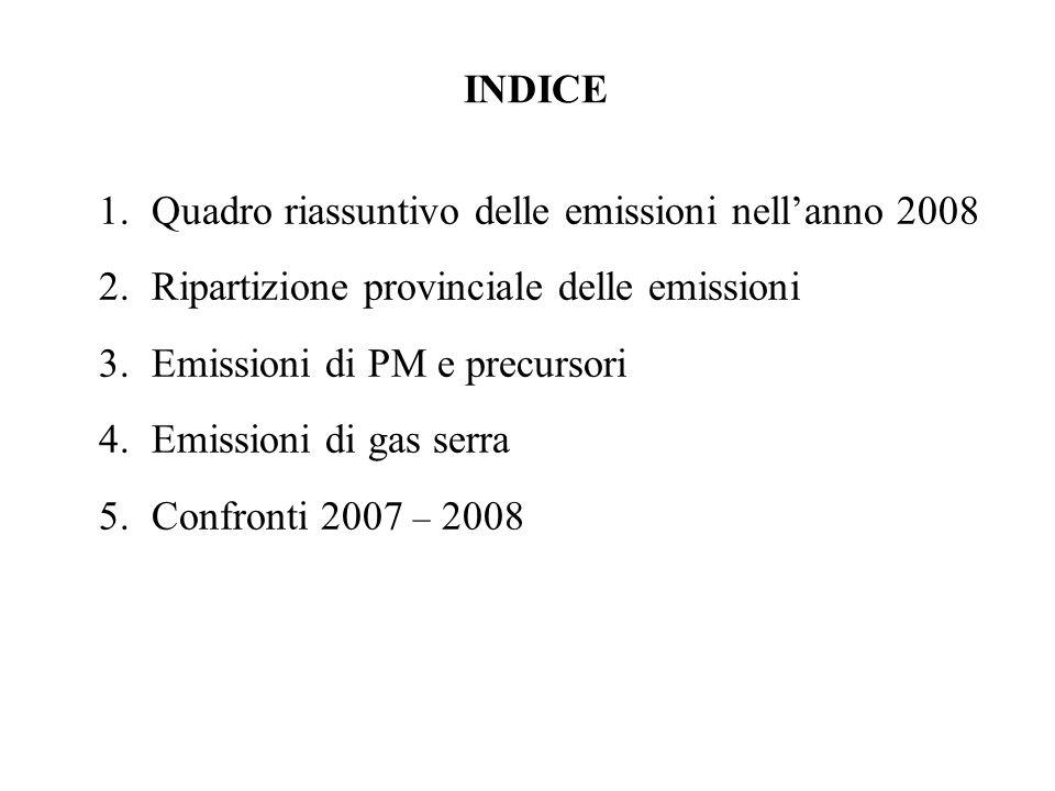 3. Emissioni di PM e precursori