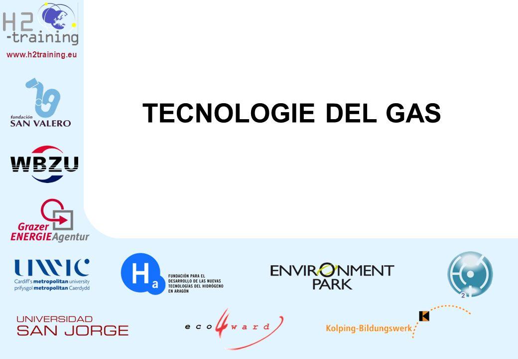 www.h2training.eu CONTENUTI 1.Trattamento del gas compresso e di gas liquefatti a bassa temperatura.