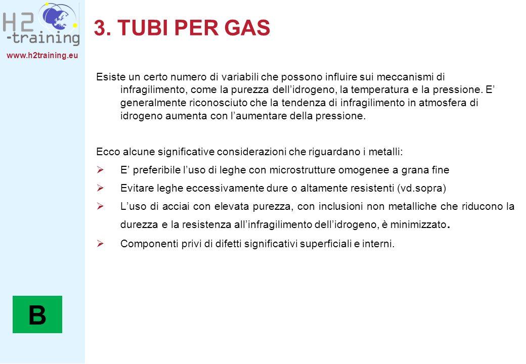 www.h2training.eu Esiste un certo numero di variabili che possono influire sui meccanismi di infragilimento, come la purezza dellidrogeno, la temperatura e la pressione.