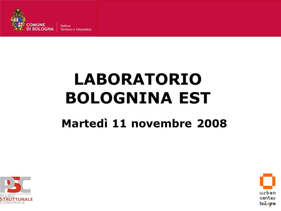 LABORATORIO BOLOGNINA EST Martedì 11 novembre 2008
