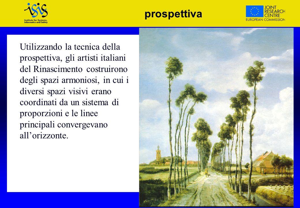 VOICE and MOISE Projects - Madrid prospettiva Utilizzando la tecnica della prospettiva, gli artisti italiani del Rinascimento costruirono degli spazi