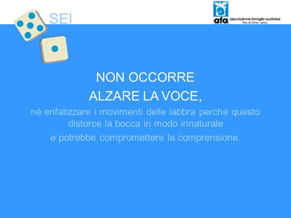 ALTERNARE IL MOVIMENTO DELLA SPIEGAZIONE ORALE CON QUELLO DELLINDICAZIONE VISIVA (es.