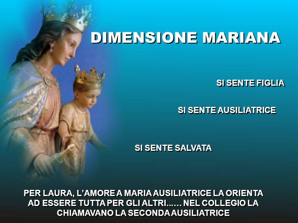 Sono Figlia di Maria 8 dicembre 1901 Sono Figlia di Maria 8 dicembre 1901 Maria, tu sei mia madre Laura Vicuña Maria, tu sei mia madre Laura Vicuña