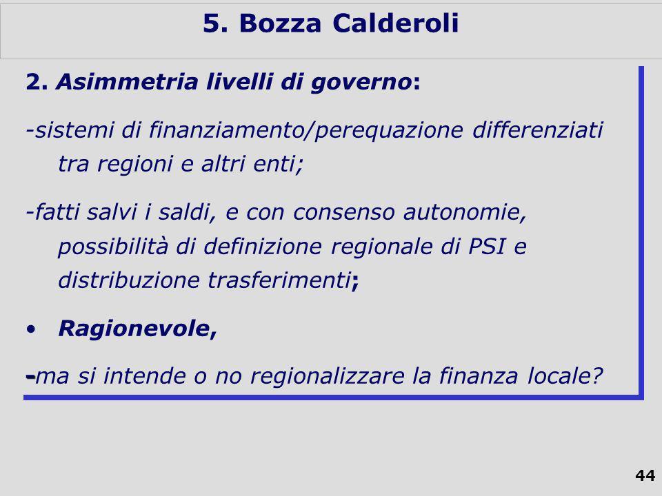 44 5. Bozza Calderoli 2.