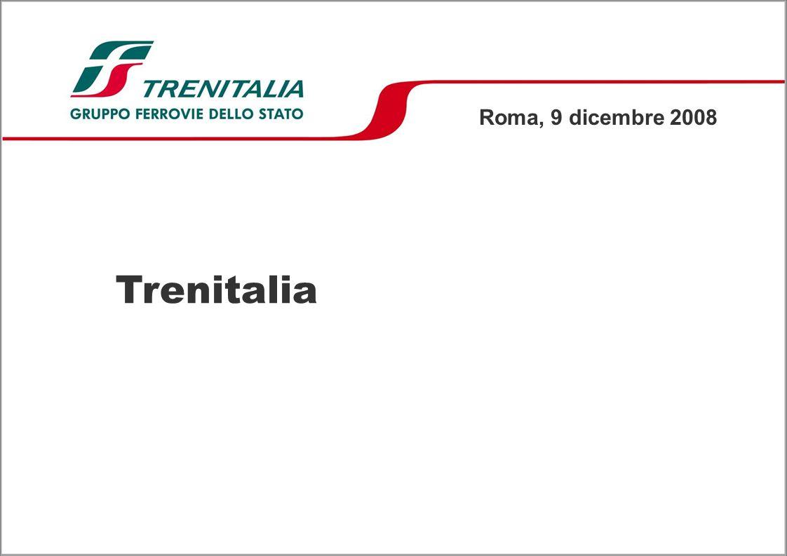 Trenitalia Roma, 9 dicembre 2008