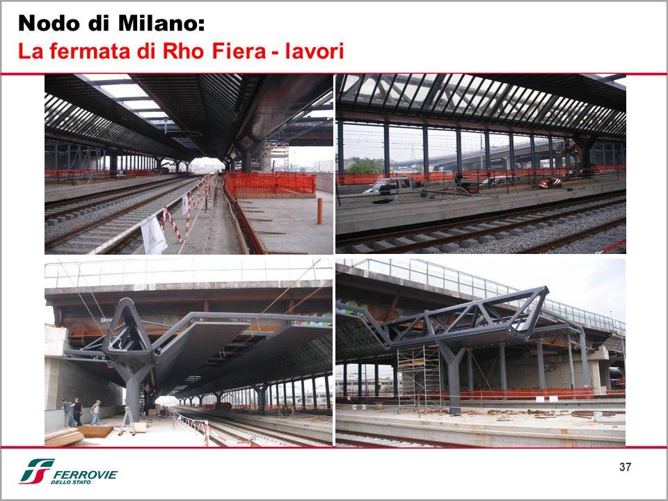 37 Nodo di Milano: La fermata di Rho Fiera - lavori