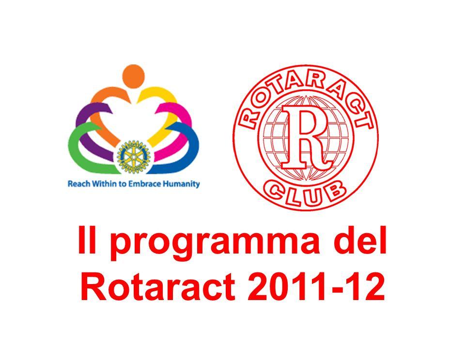 Il programma del Rotaract 2011-12