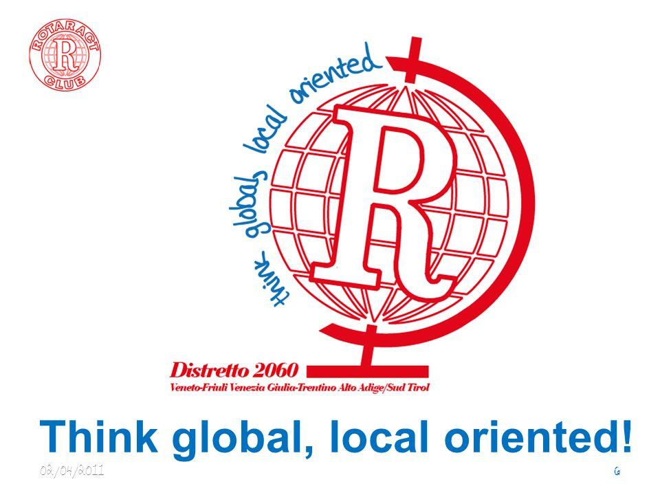 Progetti Internazionali Apertura dellanno sociale con il SIDE aperto ai distretti Rotaract della Zona 19 per far conoscere i presidenti dei club e essere promotori di nuove opportunità di crescita 02/04/20117 Distretto 2060 e la Zona 19