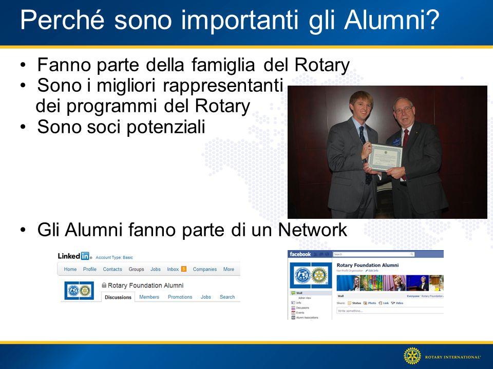 Perché sono importanti gli Alumni.