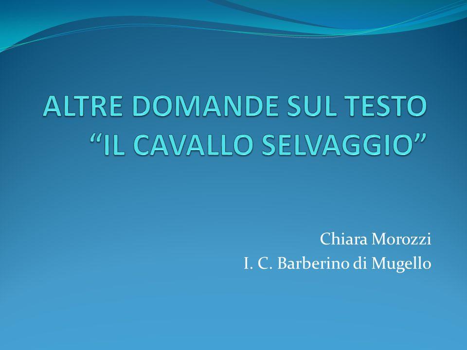Chiara Morozzi I. C. Barberino di Mugello