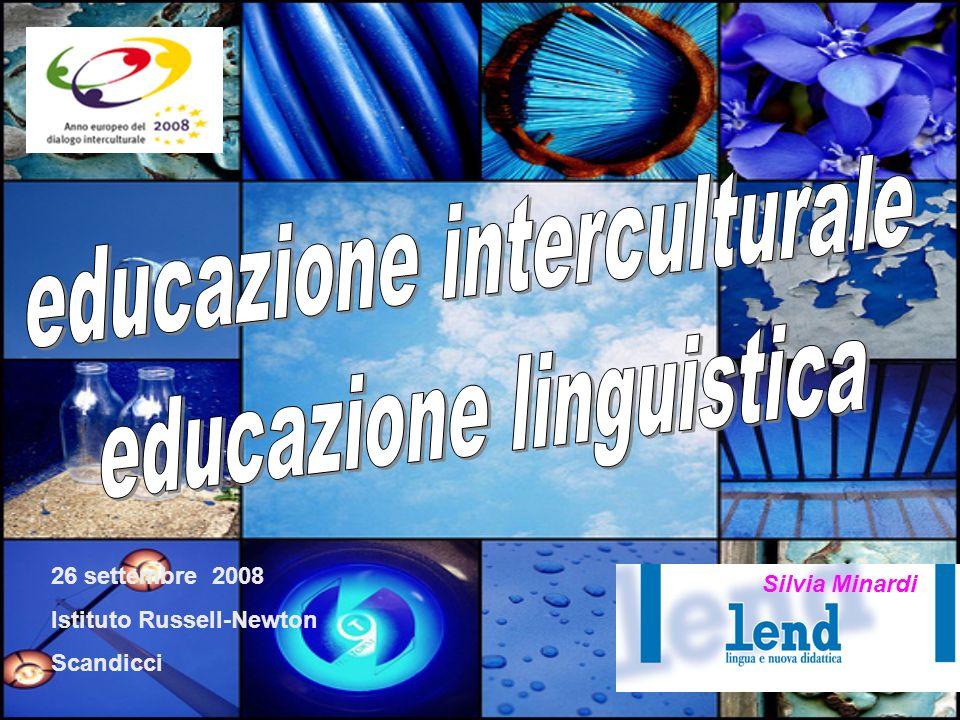 26 settembre 2008 Istituto Russell-Newton Scandicci Silvia Minardi