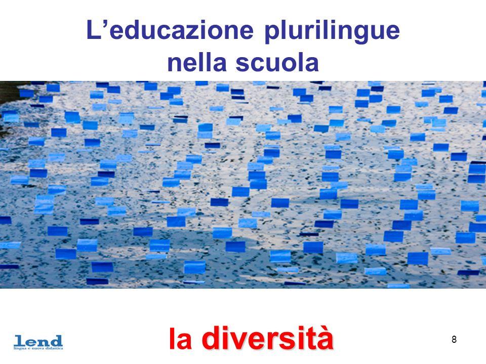 9 Leducazione plurilingue nella scuola scelte è una questione di scelte