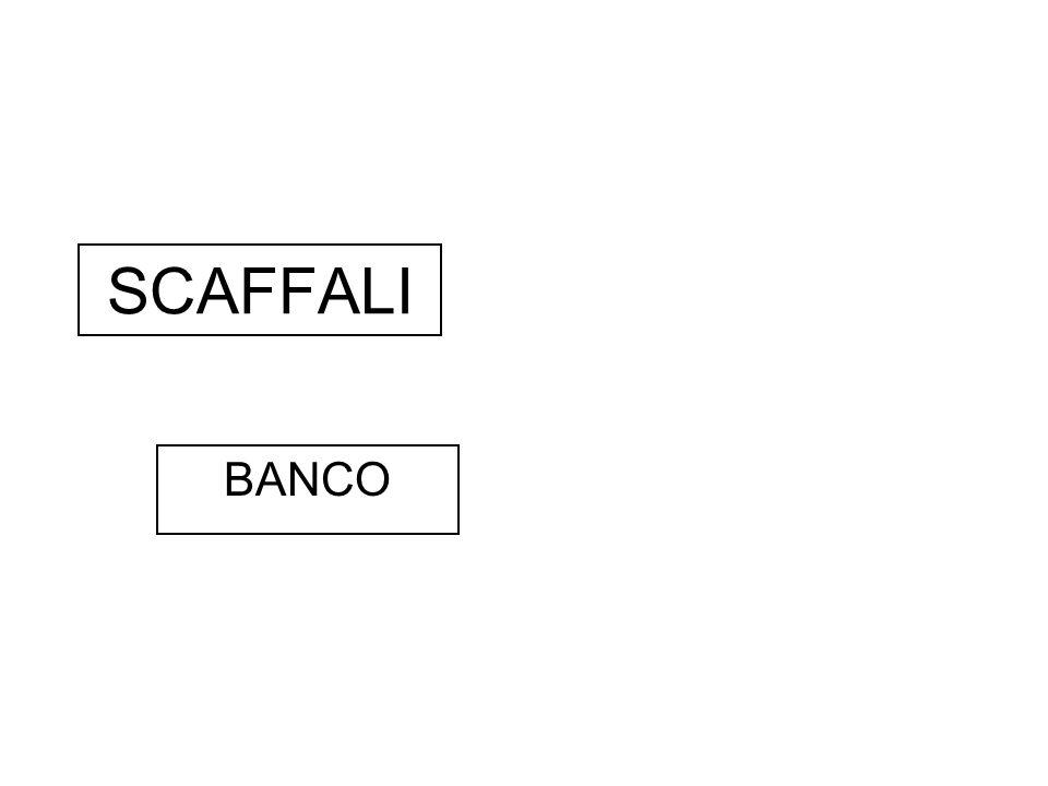 SCAFFALI BANCO