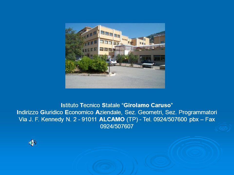Istituto Tecnico Statale Girolamo Caruso Indirizzo Giuridico Economico Aziendale, Sez.