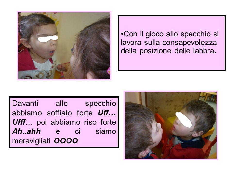 Con Bolle di sapone, a tre anni, curiamo laspetto fonologico.