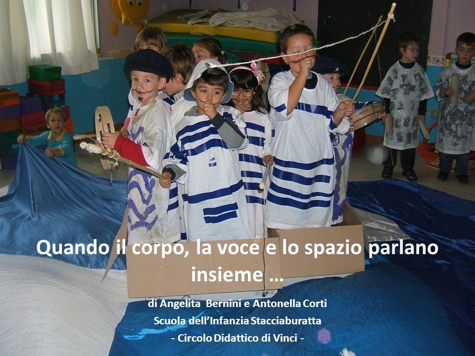 Quando il corpo, la voce e lo spazio parlano insieme … di Angelita Bernini e Antonella Corti Scuola dellInfanzia Stacciaburatta - Circolo Didattico di